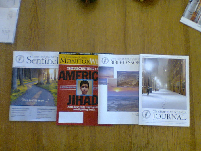 Periodicals at the Reading Room